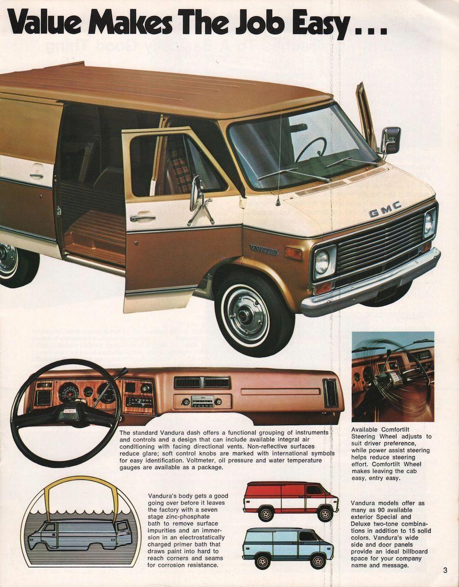 1976 Commercial Gmc Sales Brochure Gmctrucks Gmc Trucks Gmc