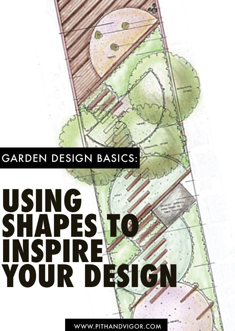 garden design basics using shapes to inspire your design - Garden Design Basics
