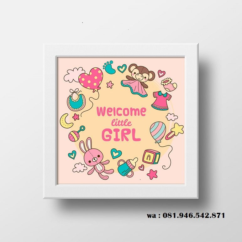 Wa 081 946 542 871 Hiasan Kamar Bayi Baru Lahir Hiasan Kamar Bagus Dinding Poster Dekorasi Dinding