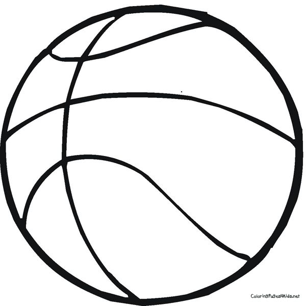 Basketball Coloring Page  School  Pinterest  Olympic idea
