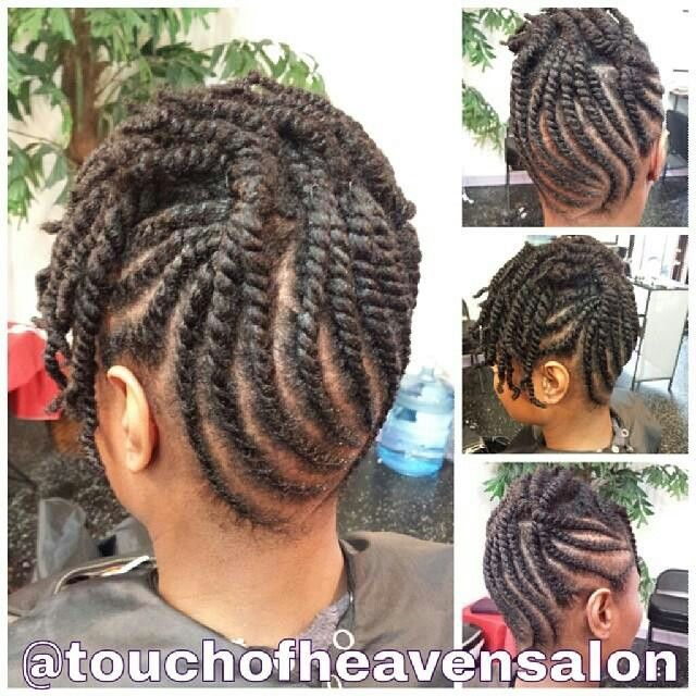 Cute Twist Updo Natural Hair Flat Twist Twist Braid Hairstyles Natural Hair Twists