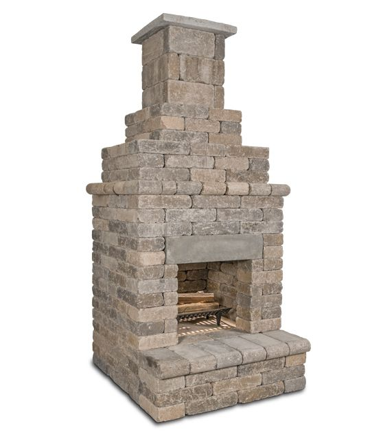General Shale The Serenity 150 Fireplace Outdoor Living My Outdoor Kitchen