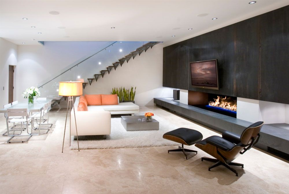Image modern house interior design ideas eetkamer
