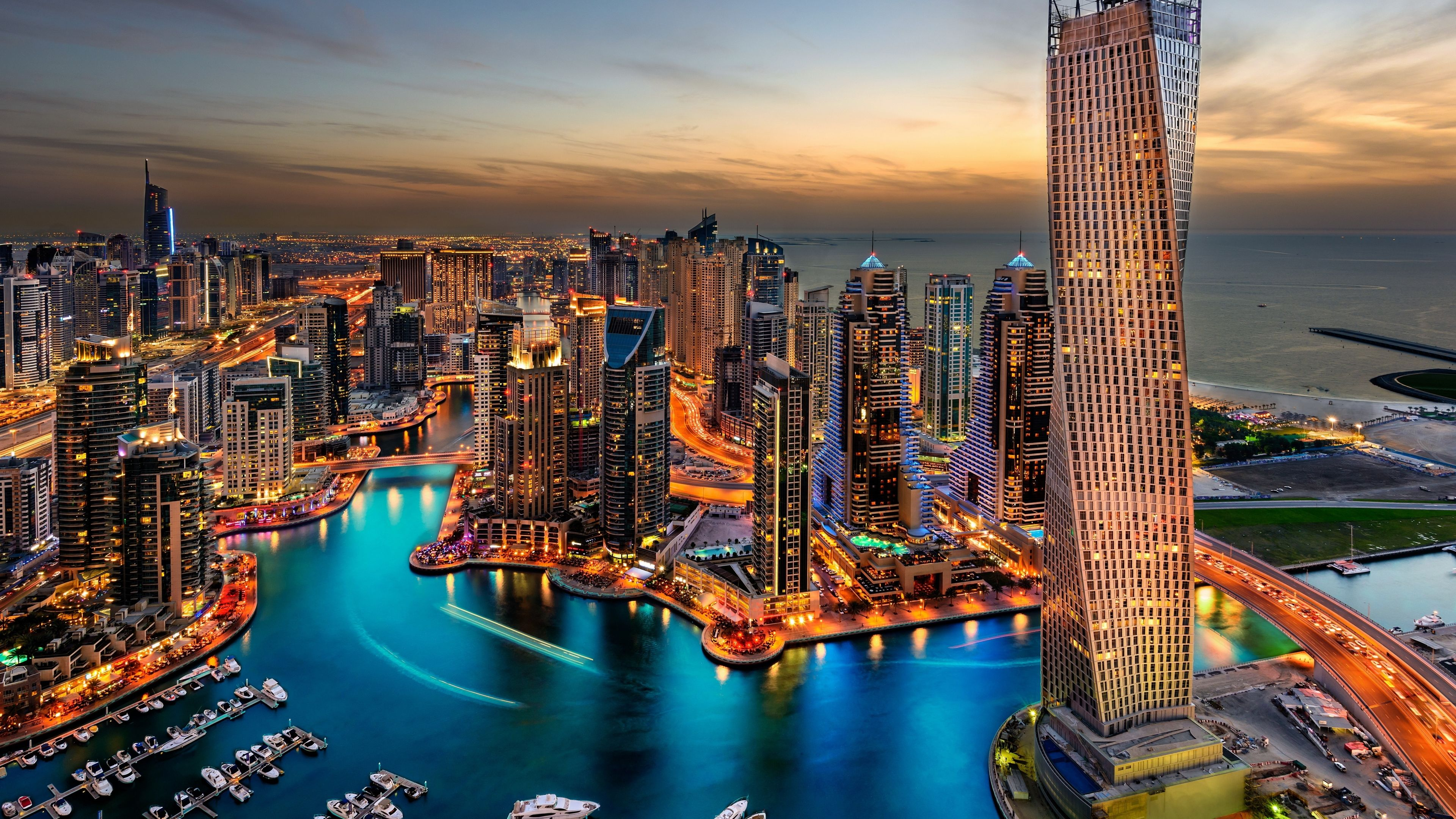 Ultra Hd Wallpapers 4k Dubai City Dubai Holidays Dubai Skyscraper