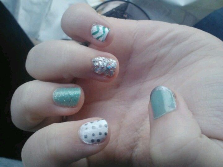 Tried these nails i saw, pretty successful!