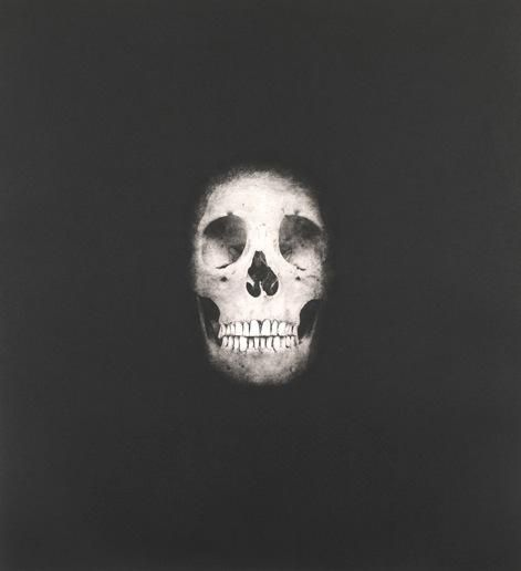 Damien Hirst:I Once Was What You Are, You Will Be What I Am (Skull 2)