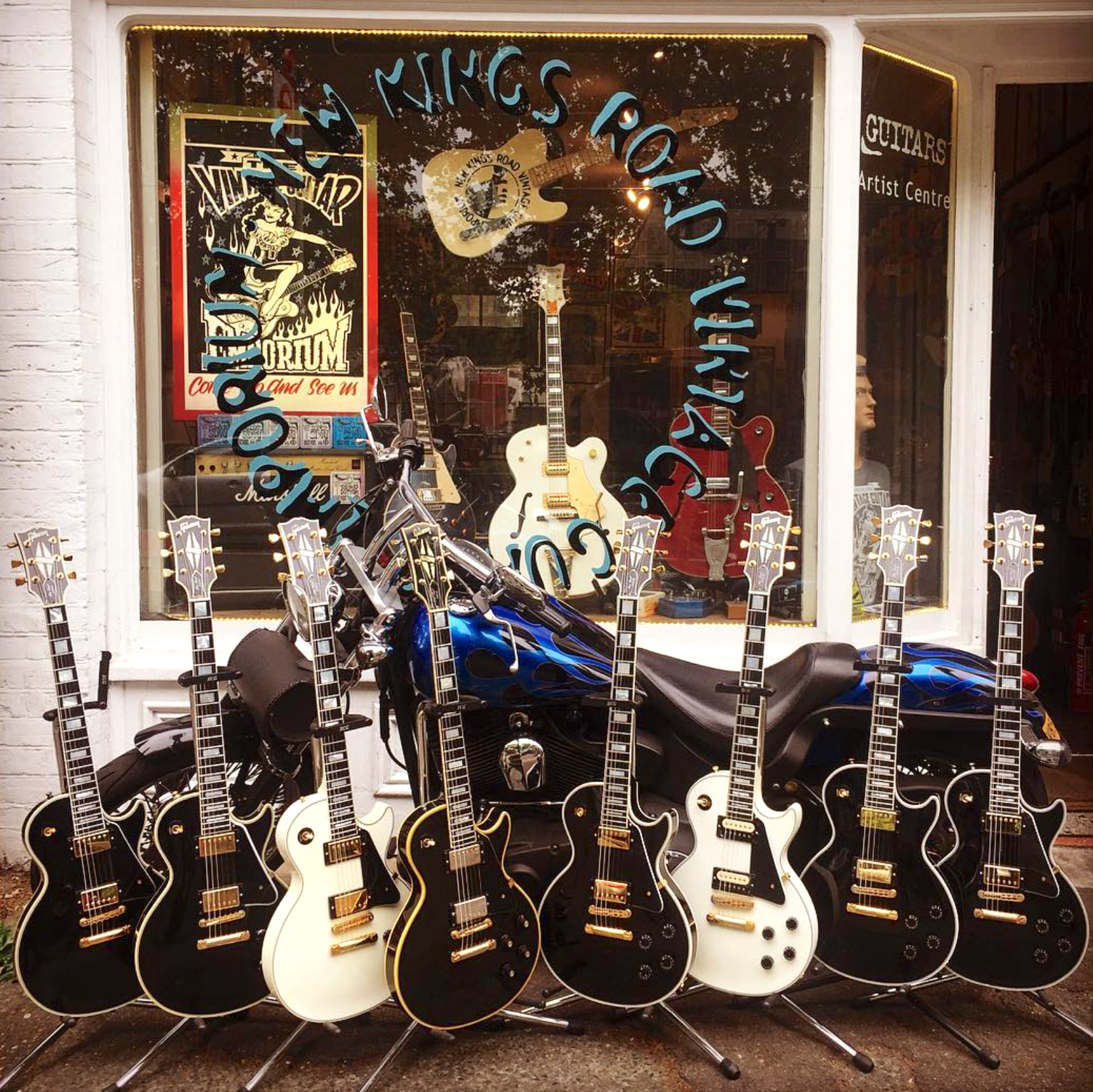 Need A Les Paul Custom New Kings Road Vintage Guitar Emporium Has You Covered