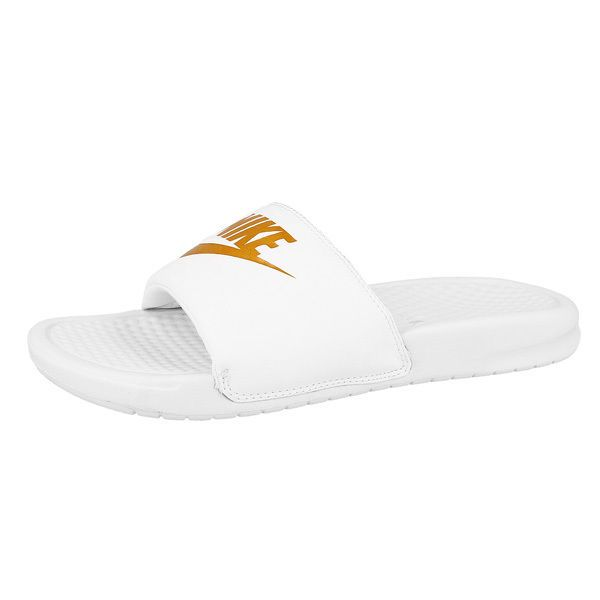 3a3978bd2 Nike Benassi JDI Women s Bath Slippers Sandal White 343881-103 Beach Shoes   Nike  Mules  SmartCasual