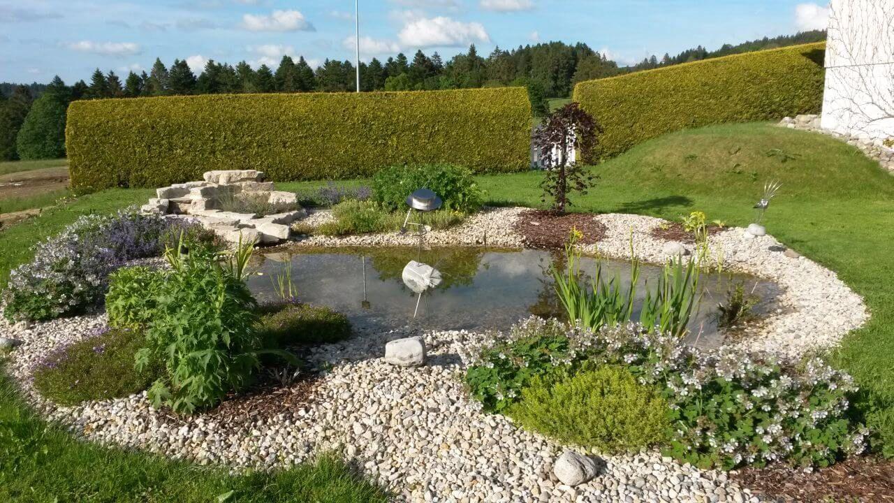 Brunner Paysagiste, La Ferrière, Jura, Création de jardin ...