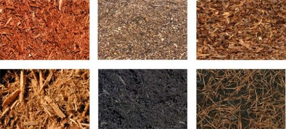 types of mulch landscaping