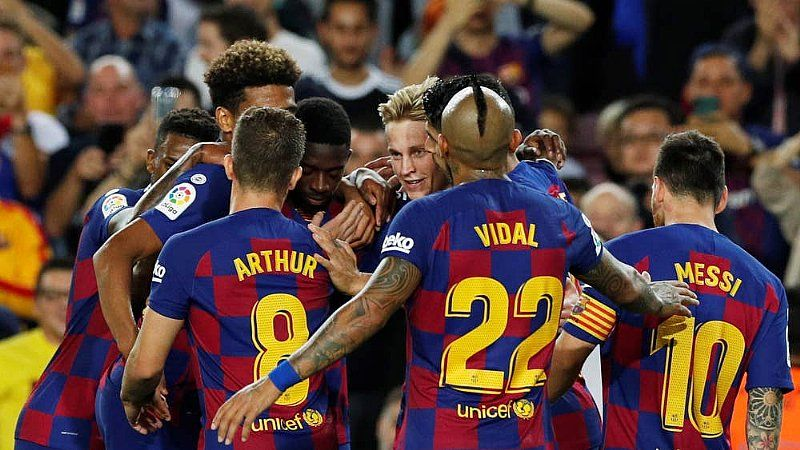 Five Talking Points From The Weekend In La Liga Soccer Match Barcelona Football Barcelona Coach