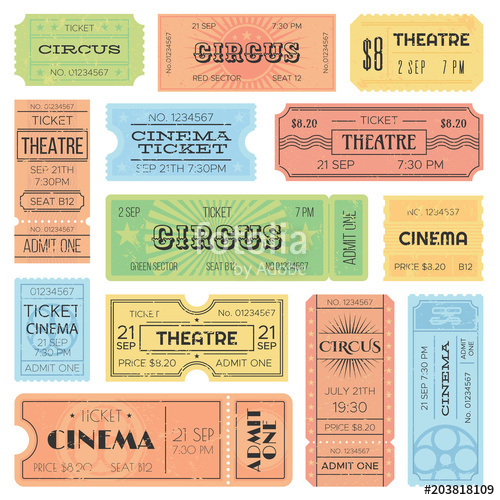 Coupon Template Google Search Admit One Ticket Ticket Design Admit One
