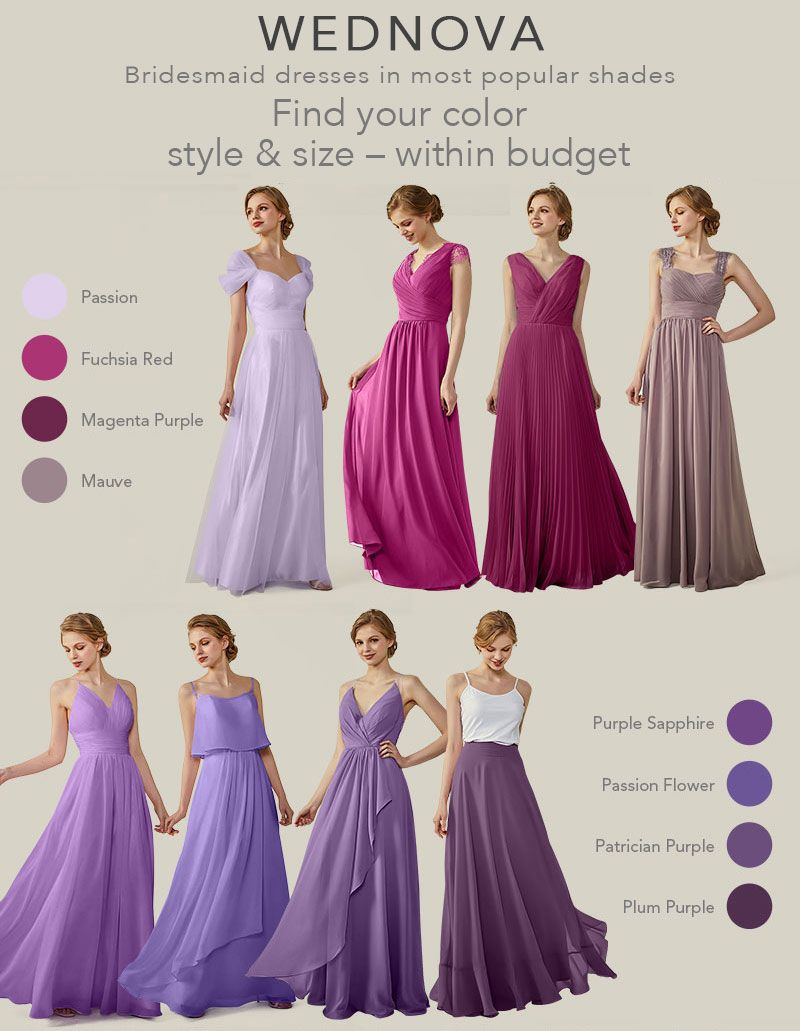 popular cold the shoulder bridesmaid dresses aline purple long