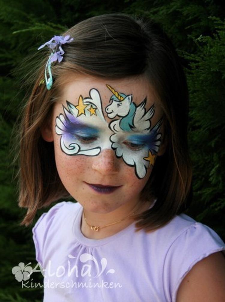 tolle vorlage zum kinderschminken nicht nur schön zum