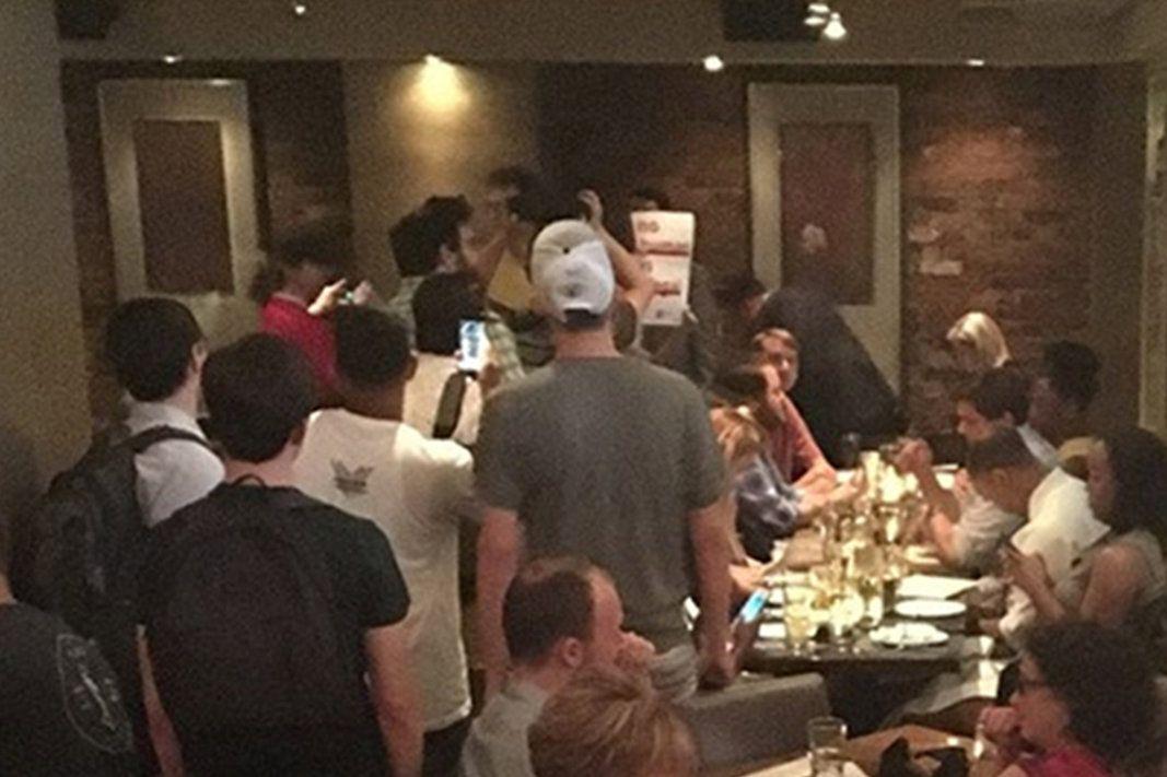 Protesters Confront Kirstjen Nielsen at Mexican Restaurant: Shame!