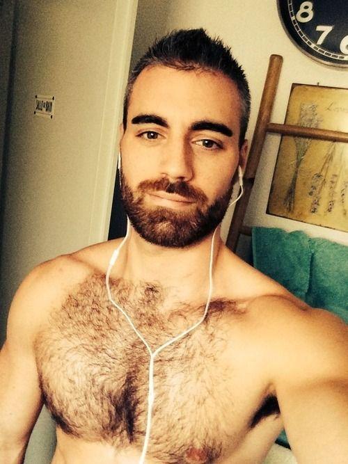 Hairy greek guy