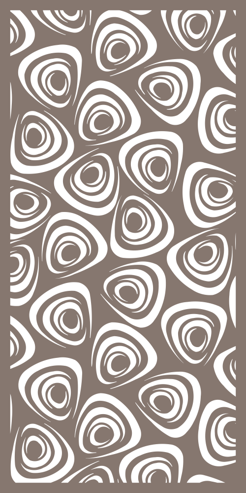 Decorative Screen Panels Pattern Free Vector cdr Download   Screen