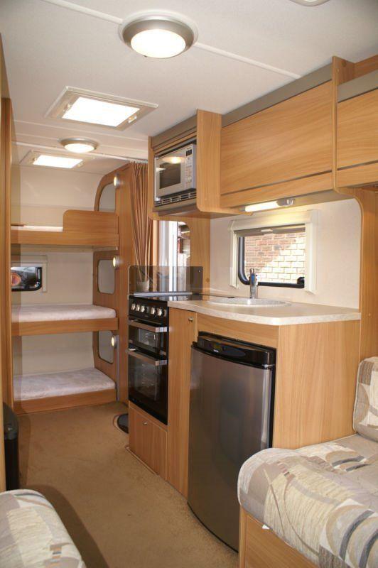 5 Berth Triple Bunk Caravan 2011 Sprite Sportstyle S5 Eb Excellent Condition Caravan Bunks Caravan Renovation Caravan