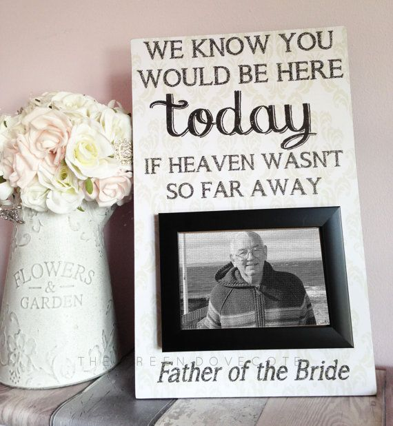 We Know You Would Be Here Today If Heaven by TheGreenDovecote ...