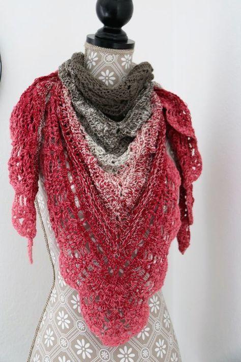 Photo of wunderschönes Tuch gehäkelt #crochet #häkeln #tuch – #Crochet #gehäkelt