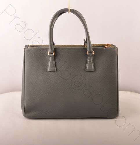 229b5bba5a €175.00 cheap prada medium saffiano leather tote bag grey shopping online