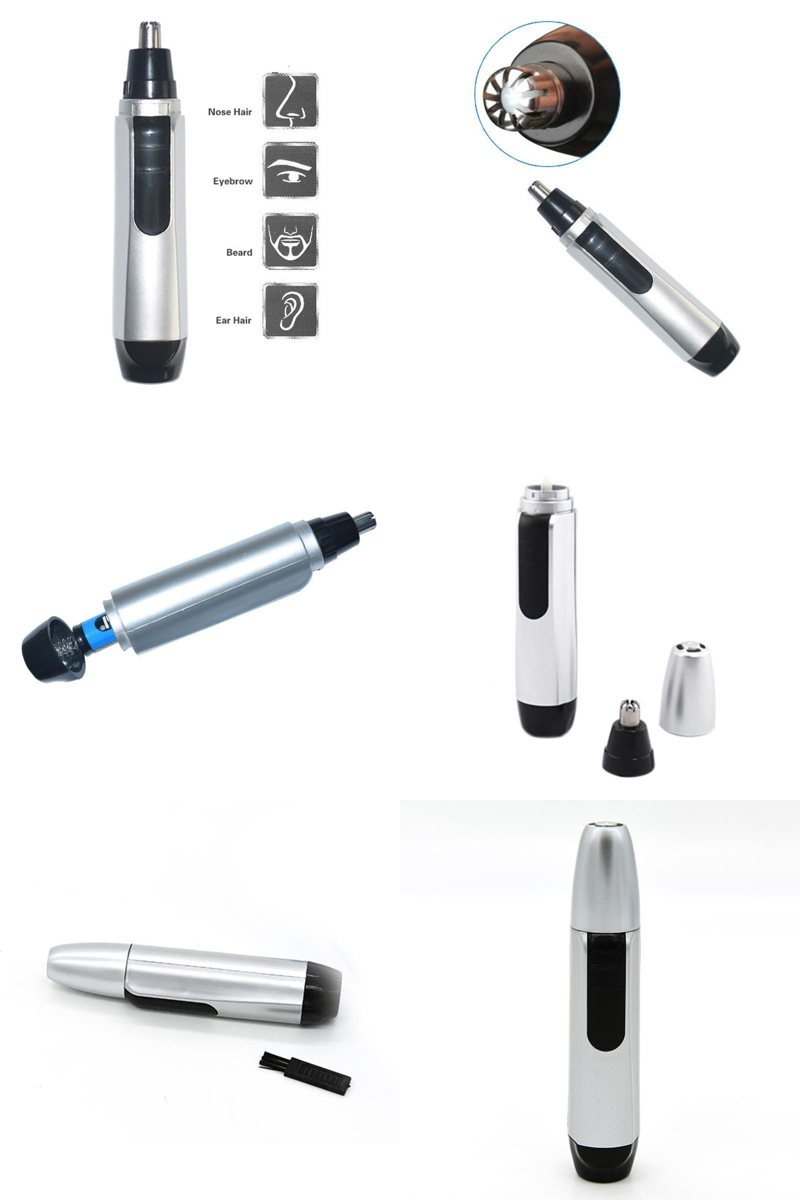 [Visit to Buy] 1pc Electric Nose Ear Hair Trimmer Clipper
