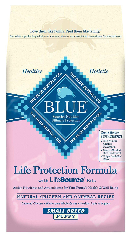 Blue Buffalo Blue Life Protection Formula Small Breed Puppy Recipe