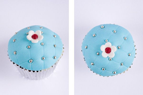 Quilted cupcakes - new one on me....