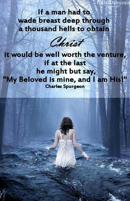 My Beloved is mine and I am His!