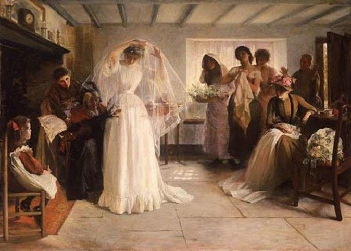 p e t r o n i a l o c u t a: breve historia del vestido de novia