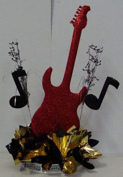Guitar Music Centerpieces For Tables Centerpieces