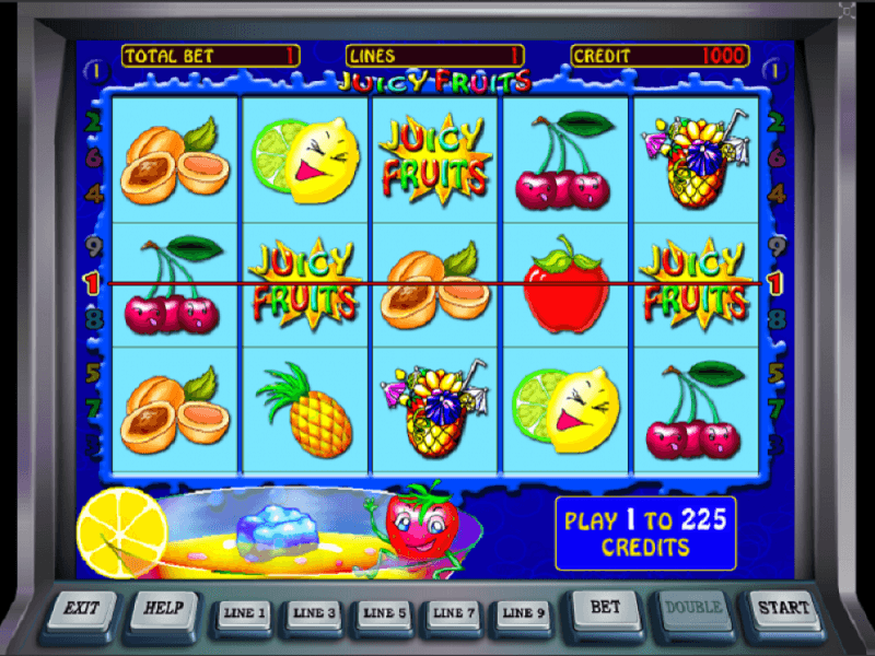 Juicy Fruit Gameplay and Features The appealing visual