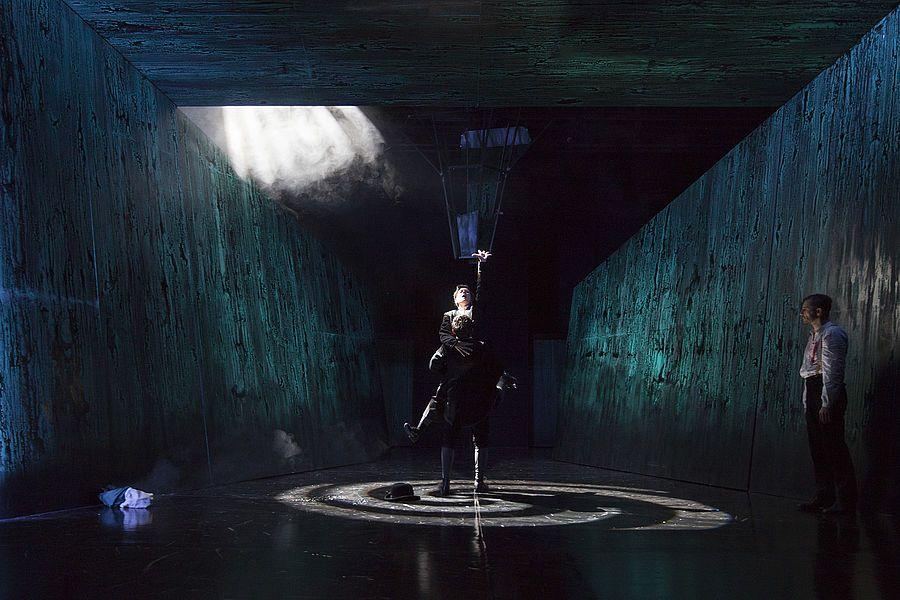 Liliom, Oldenburgisches Staatstheater,  Regie: Alexander Simon Bühne und Kostüm: Matthias Koch Musik: Carolina Bigge