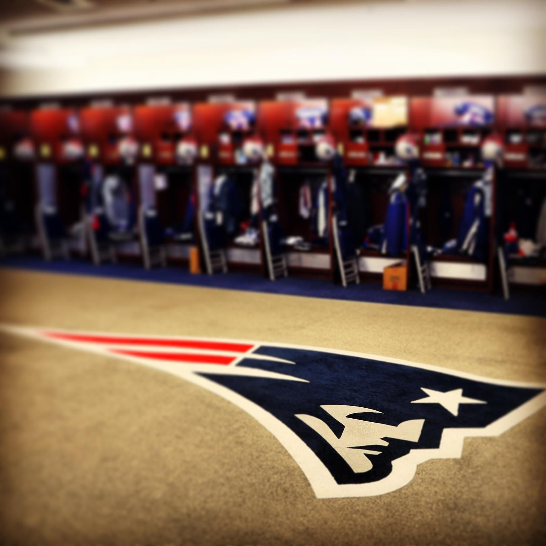 Locker Room New England Patriots Football England Sports Patriots