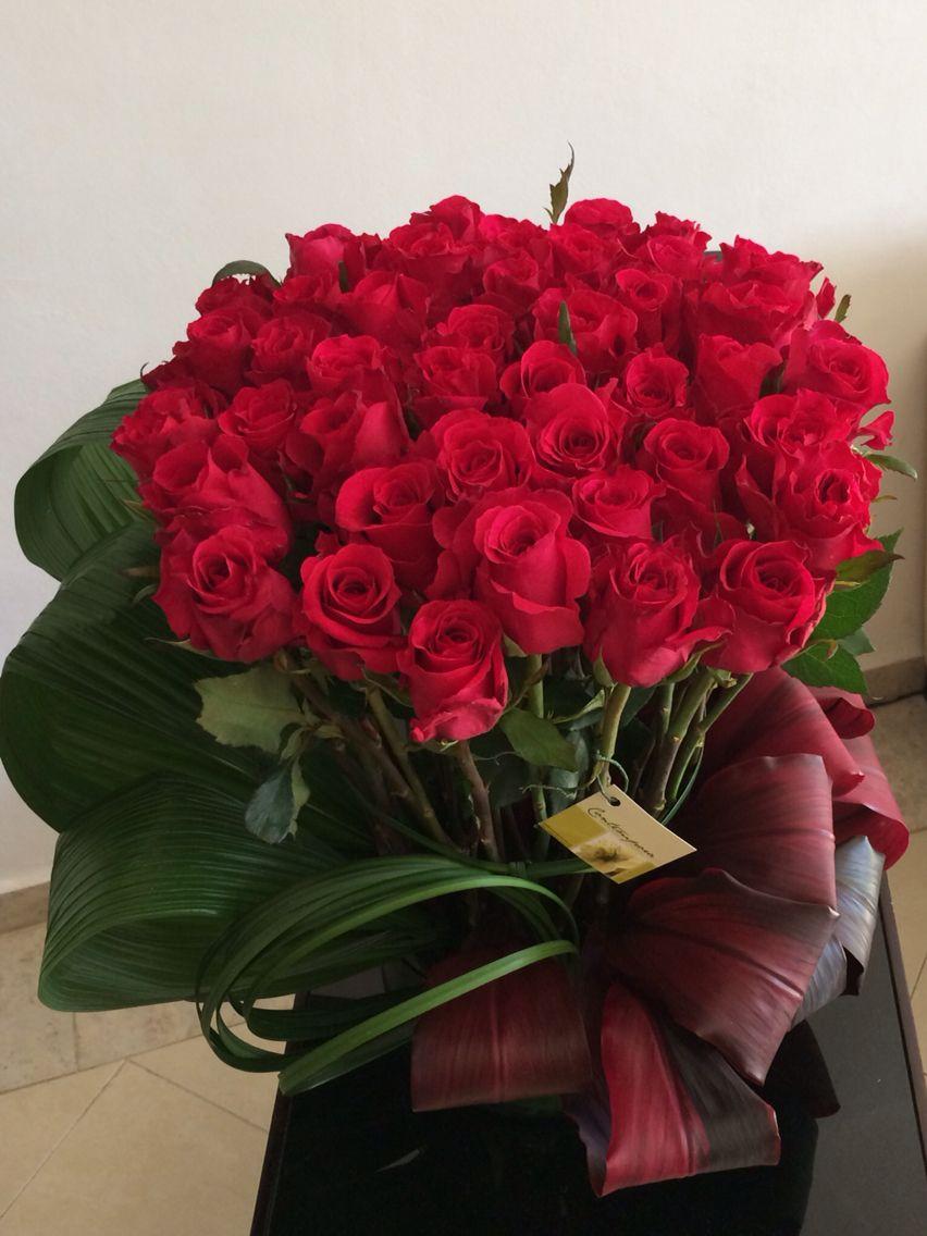 arreglo de rosas / roses | Roses | Pinterest | Flowers, Flower and Rose