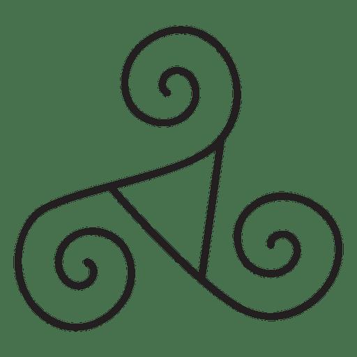 Celtic triskelion neo paganism symbol #AD , #Paid, #affiliate, #triskelion, #symbol, #paganism, #Celtic