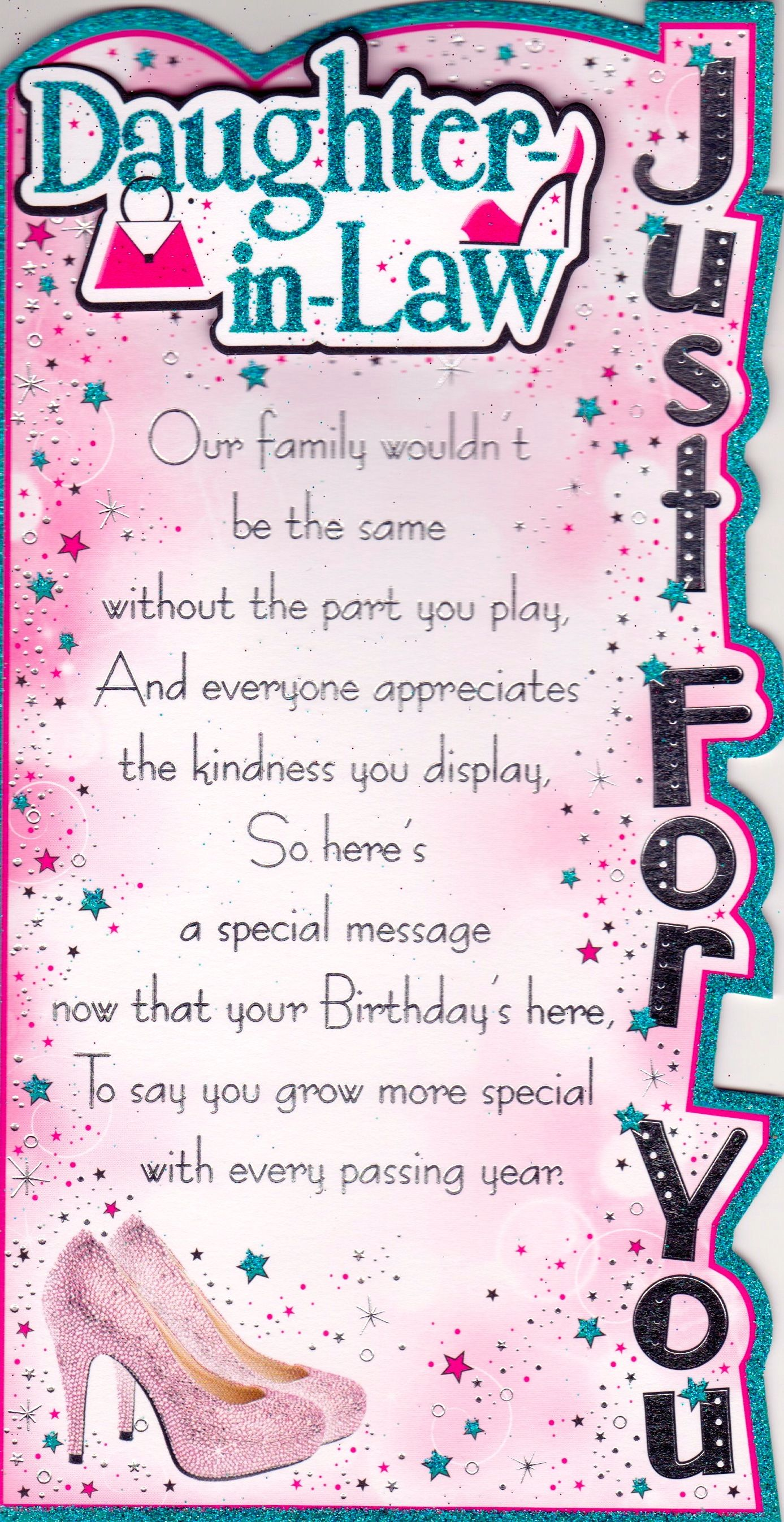 Happy Birthday daughter in law Birthday quotes for