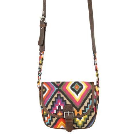American Eagle by Payless Maria tribal-print cross-body bag, $17 <3