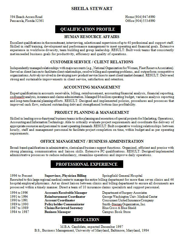 10 Samples of Professional Resume Formats You Can Use In Job Hunting
