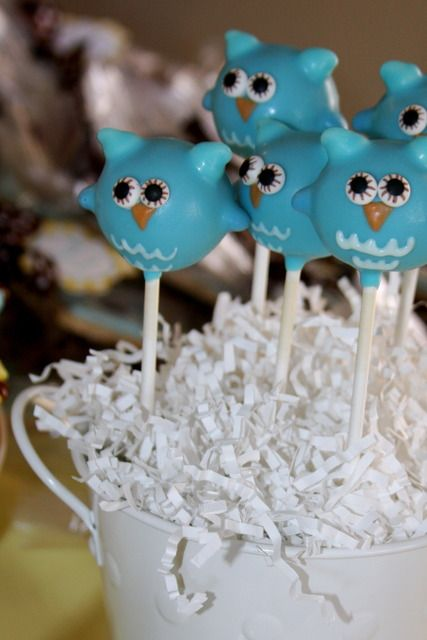 "Photo 1 of 17: Owls / Baby Shower/Sip & See ""Look Whooo's having a Baby!"" 