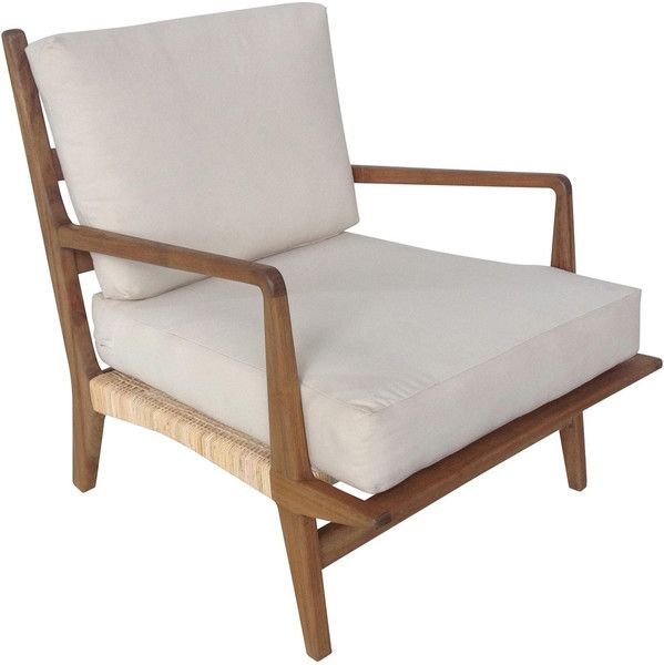 Allister Chair with Rattan and Teak | Pinterest