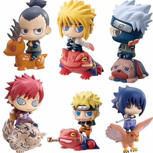 6pcs set funko pop naruto figures with mounts products. Black Bedroom Furniture Sets. Home Design Ideas