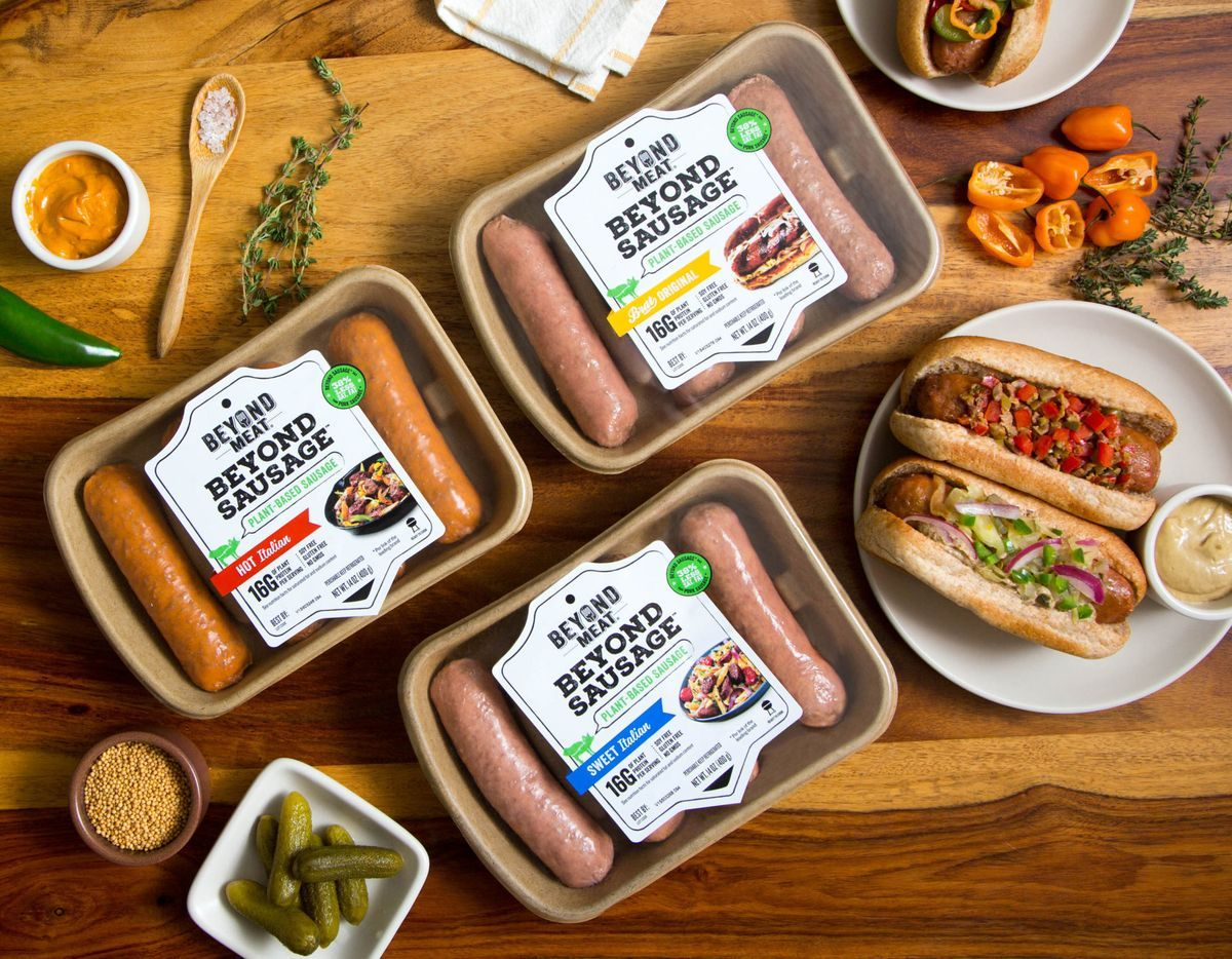 Yankees Tested Vegan Sausage Going National At Whole Foods Food Plant Based Eating Whole Food Recipes