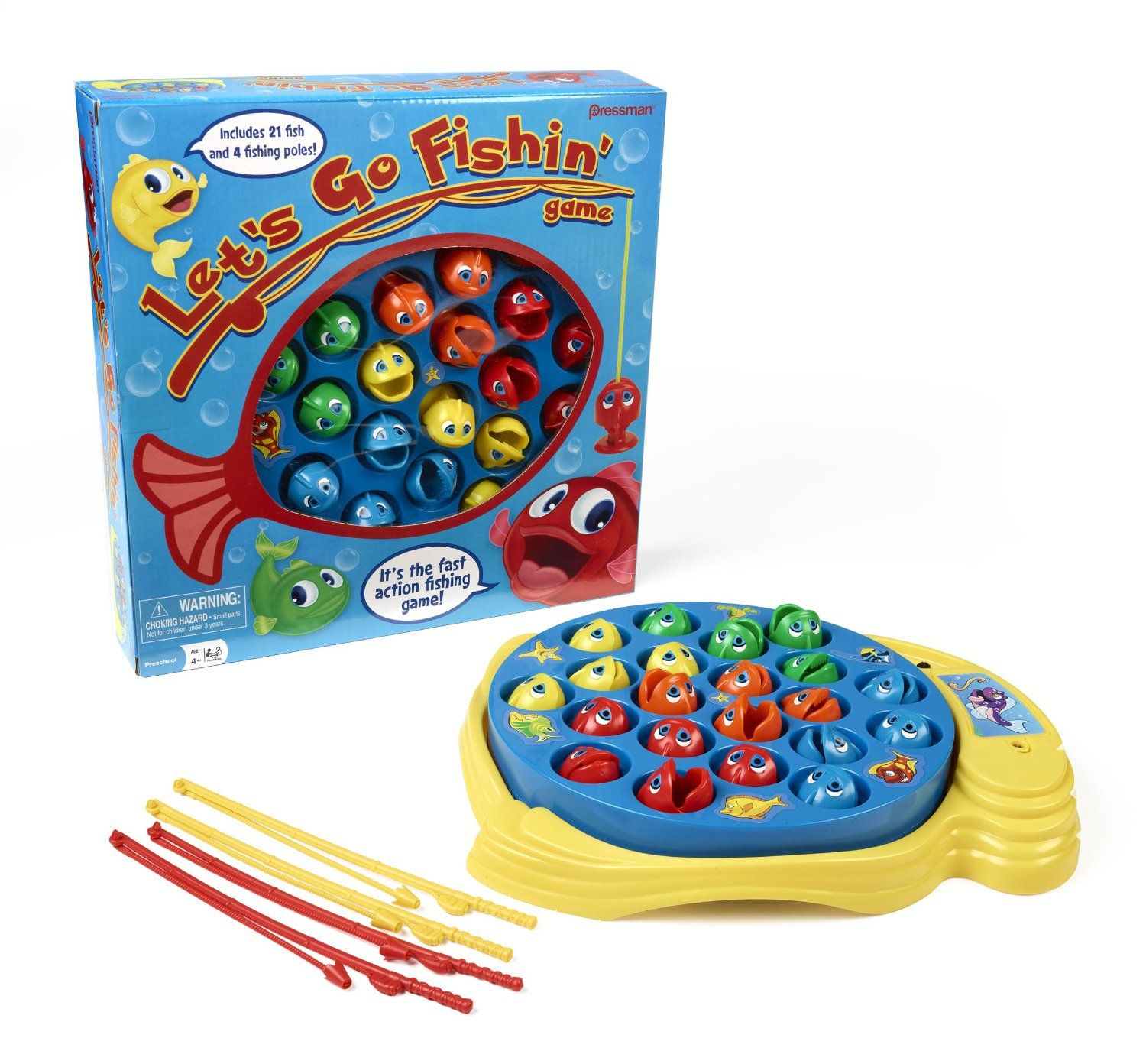 Lets Go Fishing Game Toy For Kids Who Love To Fish Fishing Kids