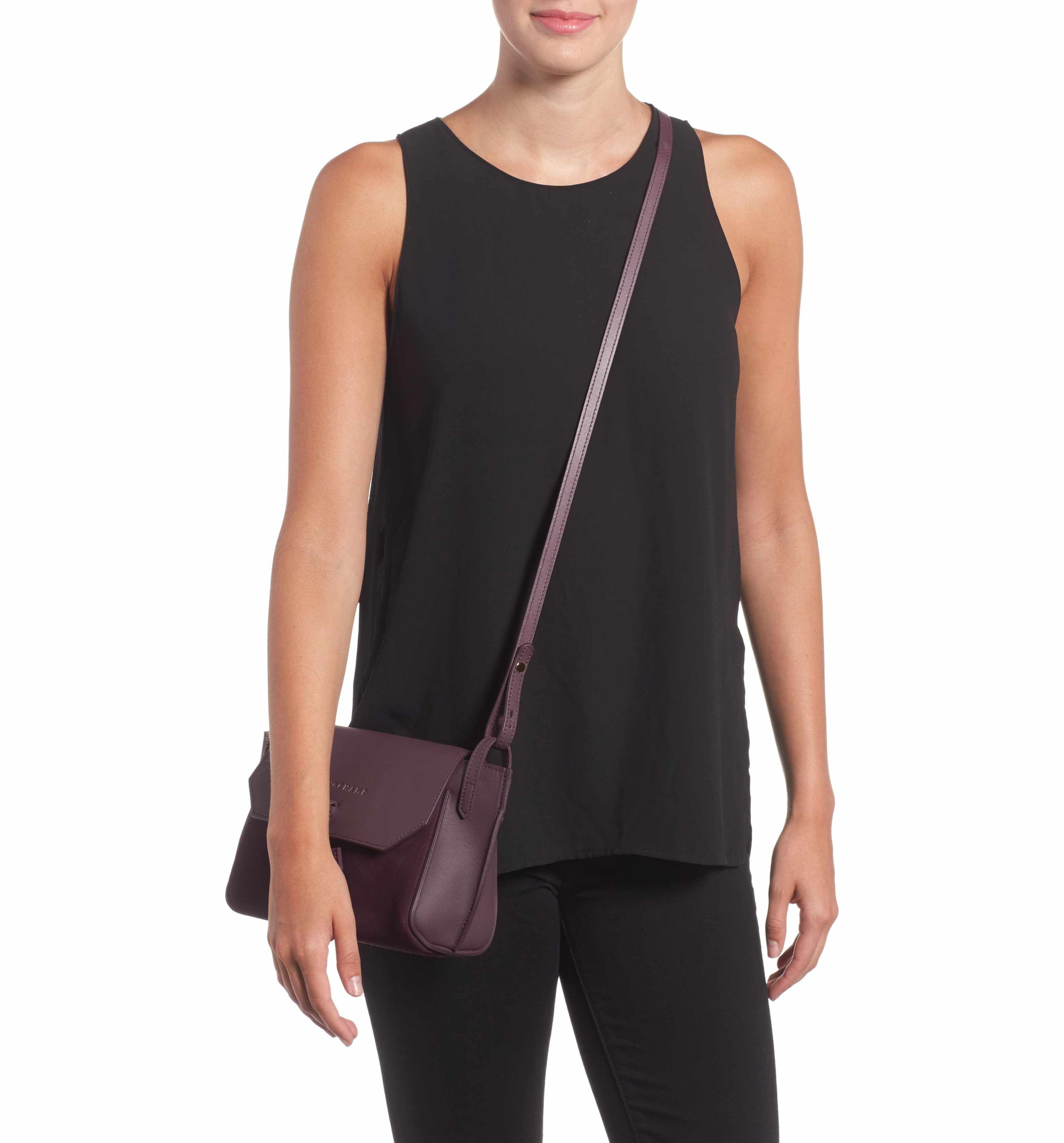 Main Image - Longchamp Small Penelope Leather Crossbody Bag ... 9ea631a30f3
