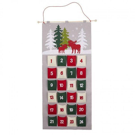 Felt Advent Calendar Christmas Advent Advent Handmade Christmas