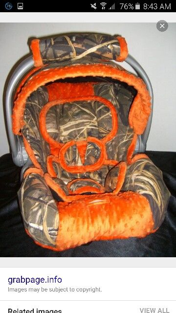 Baby Boy Camo Stuff Car Seats