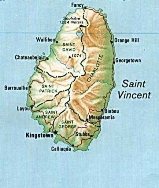 Visiting St Vincent the Grenadines