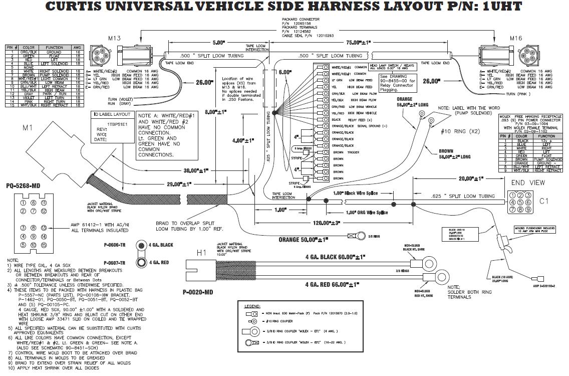Curtis Pro 3000 Wiring Diagram