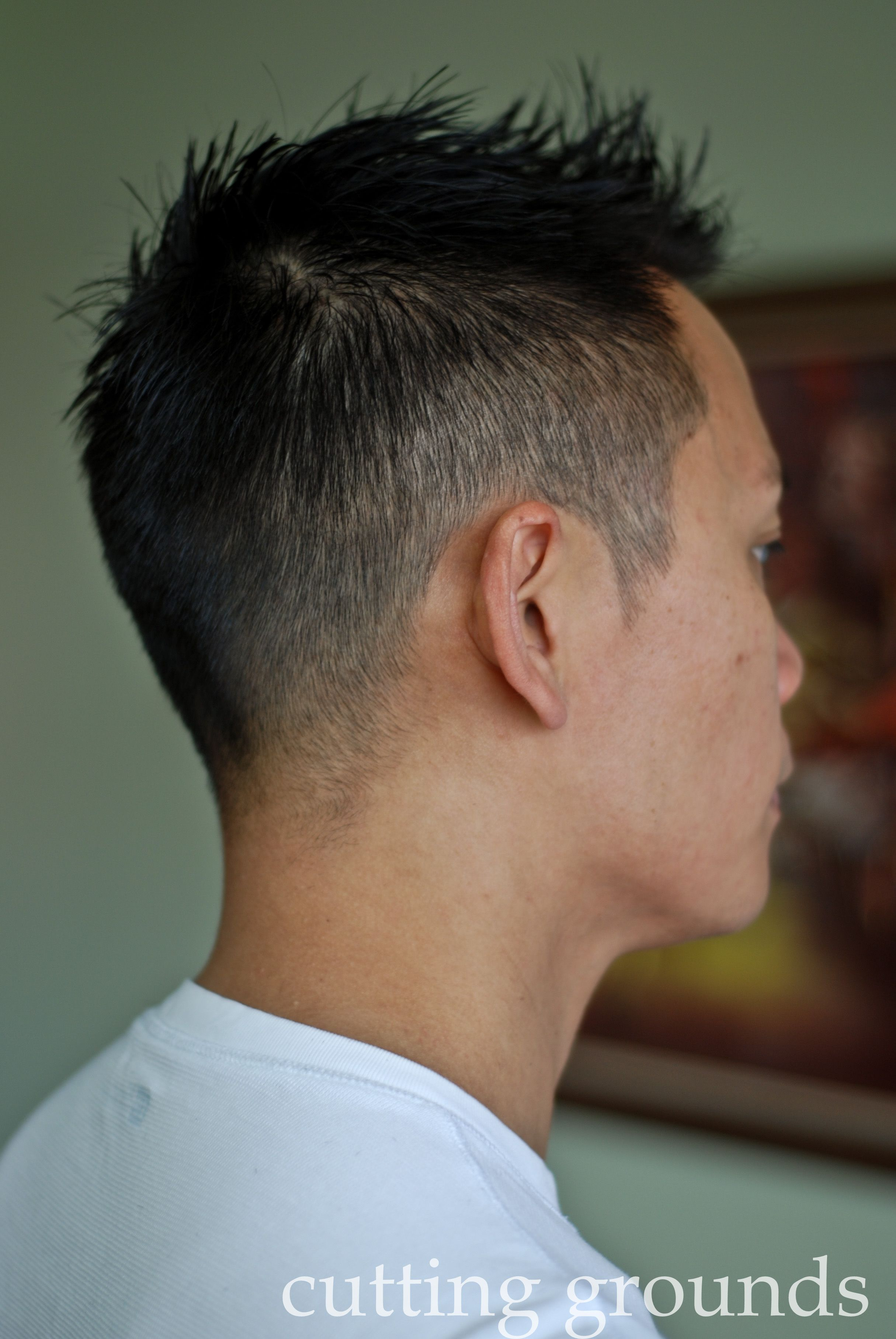 Hot mens haircuts short menus cut high fade  mens cuts  pinterest  high fade man